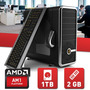 Pc Nueva Amd Dual Core Kabini Am1 Gab Kit