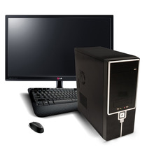 Pc Internet Completa Amd Dual Core Hdmi Usb 3 Monitor 19 Led
