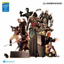 Pc Intel I3 4ºgen+4gb+hd 1tb+dvd-rw+windows 8 Original+gtía