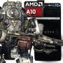 Pc Armada Amd A10 7850k 4gb 1tb Gamer Ati R7 Diseño Hf Moron
