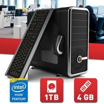 Pc Intel Pentium Dual 4ºgen G3220 4gb Ddr3 Hd 500gb Gab Kit