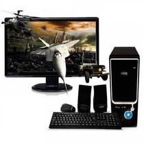 Pc Intel I3 2100 - Hdmi - Ddr3 4gb + Hd 500gb + Gab. Kit 450