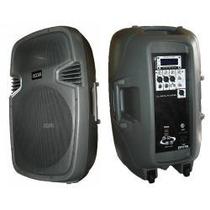 Parlante 15 Potenciado 2800w Mp3 Moon Be15dmup Bluetooth