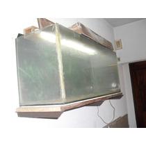Pecera Grande Con Accesorios E Iluminacion