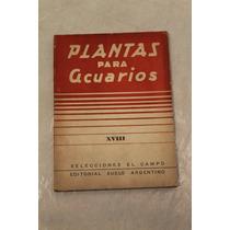 Librillo Plantas Para Acuarios