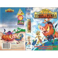 Timon & Pumba 3 Videos Disney Dibujos Animados 3 Vhs