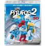 Los Pitufos 2 Blu-ray 3d Nuevo Original Caja Smurfs Br 3d