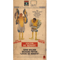 Locos De Remate Vhs Gene Wilder Richard Pryor Retro 1980