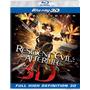 Blu-ray 3d Resident Evil Afterlife / La Resurreccion / 3d+2d