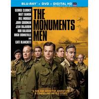 Blu-ray The Monuments Men / Operacion Monumento / Bd + Dvd