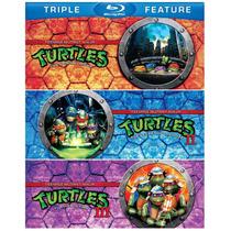 Blu Ray Turtles Four Pack 4 Films Tortugas Ninjas Original