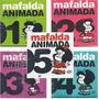 Mafalda - Animada 5 Dvd´s + 5 Libros Nuevos Cerrados Origina