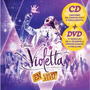 Cd + Dvd Violetta En Vivo + 5 Canciones Inéditas Original
