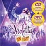 Cd + Dvd Violetta En Vivo + 5 Canciones Inéditas Original