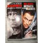 Rambo + Desafio A La Muerte Stallone Van Damme 2 Dvd Widescr