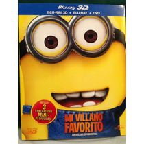 Blu-ray 3d Despicable Me / Mi Villlano Favorito / 3d+2d+dvd