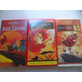 Lote 3 Vhs Walt Disney Pictures