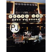 Dvd Pearl Jam Live In Texas. Austin City Limits 2009