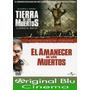 Tierra De Muertos + El Amanecer De Los Muertos- Dvd Original