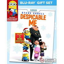 Blu-ray+dvd -- Despicable Me: Holiday Gift Set