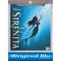 La Sirenita ( Disney) 3 D + 2 D - Blu Ray Original - Almagro