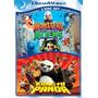 Dvd Kung Fu Panda Y Monstruos Vs Aliens - Nuevo Original D&h