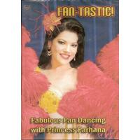 Pack 3 Dvd Danza Arabe Con Abanico De Plumas ( Fan ) Farhana