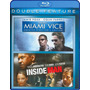Blu-ray Miami Vice + Inside Man Plan Perfecto / 2 Films