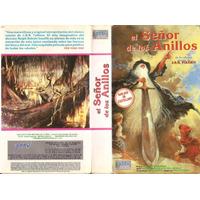 El Señor De Los Anillos Vhs Dibujos Tolkien Bakshi 1978