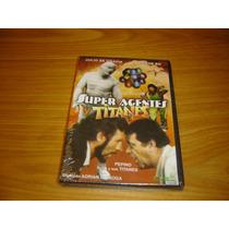Superagentes Y Titanes Dvd De Grazia Victor Bo Lucha Libre