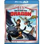Blu-ray 3d Como Entrenar A Tu Dragon / Blu-ray 3d + Dvd