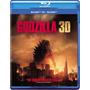 Blu-ray 3d Godzilla (2014) / Br 3d + 2d + Dvd