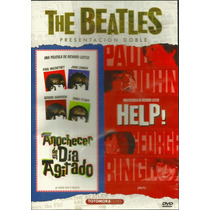 Dvd The Beatles: Atardecer De Un Dia Agitado + Help!