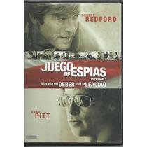 Juego De Espias-spy Game-dvd-orig.exc.est.subasta