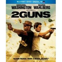 Blu Ray 2 Guns + Dvd Estreno Original Nuevo Cerrado Cover