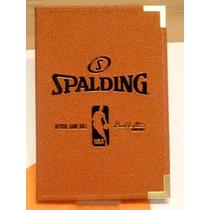 Carpeta Notas Profesor Basquetball Spalding