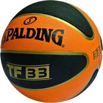 Pelota De Basquet Spalding Tf 33 Nº 7   Green Sport
