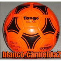 Pelota Adidas Tango 78 River Plate Naranja