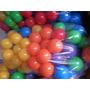 800 Pelotitas Pelotero Niños Virgen Brillantes 6 Colores