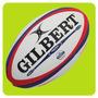 Pelotas Rugby Gilbert Photon N°5 Grip Y Valvula Profesional