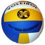 Pelota Volley Xball Tricolor Medidas Reglamenta Green Sport