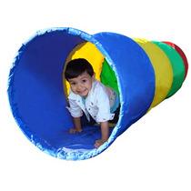Gymtonic - Tunel De Tela Infantil Para Psicomotricidad