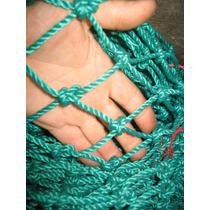 Red De Polietileno Color Verde Rombo De 4,5 Cm Hilo 5 Mi
