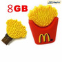 Pen Drive Mc Donald´s 8 Gb Papa Fritas - Floresta