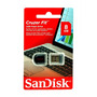 Pen Drive Sandisk 8gb Cruzer Fit Nano Stereo 2.0 3.0 Mini
