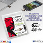 Pen Drive Kingston 16 Giga Microduo P/ Celulares Y Tablets