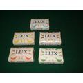 5 Jabones Lux - Antiguos Y Sin Uso -