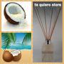 Difusor Ambiental Varillas De Bambú Fragancia Coco 125 Ml