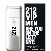 212 Vip Men Carolina Herrera Edt *100ml