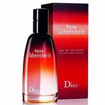 Perfumes Importados Aqua Fahrenheit Christian Dior Edt*100ml
